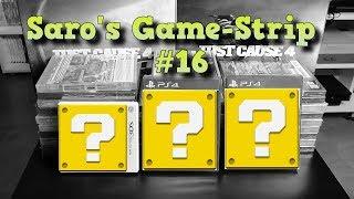Saro's Game-Strip die 16. [Unboxing, PS4, 3DS]