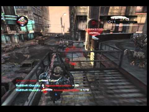 Gears of War 2 Shotgun Montage RuBBeR IDuckiEz