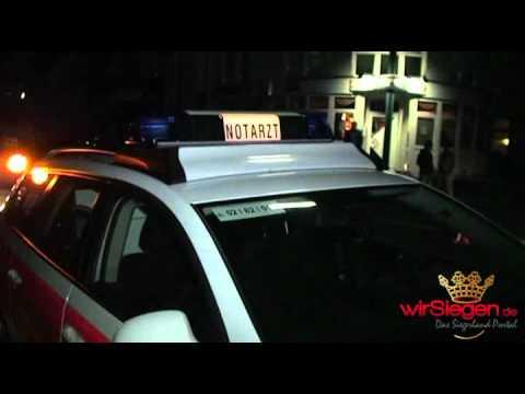 Hilchenbach Dahlbruch - Fußgänger von PKW angefahren