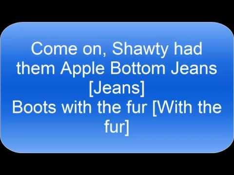 apple bottom jeans lyrics hd