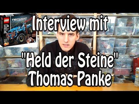 """Interview mit """"Held der Steine"""" Thomas Panke (Klemmbausteinlyrik)"""