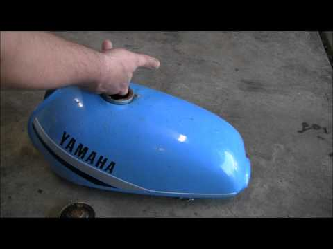 Remove Rust From Motorcycle Gas Tank: Less Than 5 Dollars!