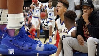 Shaqir O'Neal RAINING 3's in Front of Shareef O'Neal on Senior Night in BUZZER BEATER FINISH