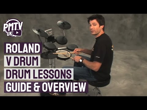 Roland V Drum Lessons