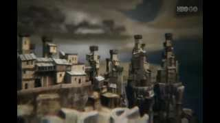 Game of Thrones opening theme - Seasons 1 and 2 castles