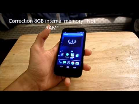 Motorola Moto G Review Pt 1 (Boost Mobile)