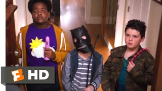 Good Boys (2019) - My Parents' Weapons Scene (4/10) | Movieclips