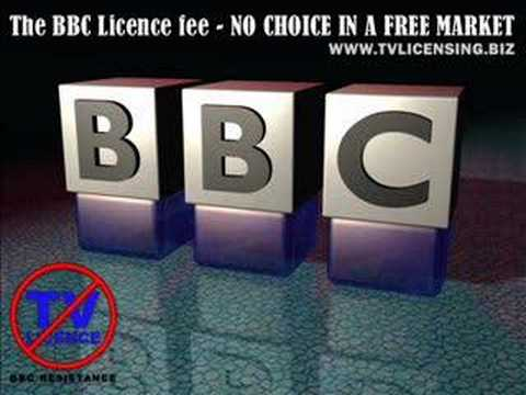 BBC RESISTANCE - END LICENSING NOW!