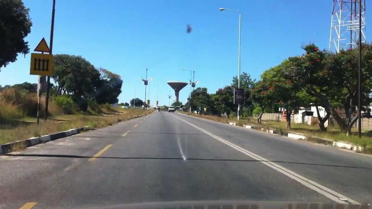 Harare Airport Road Zimbabwe Youtube