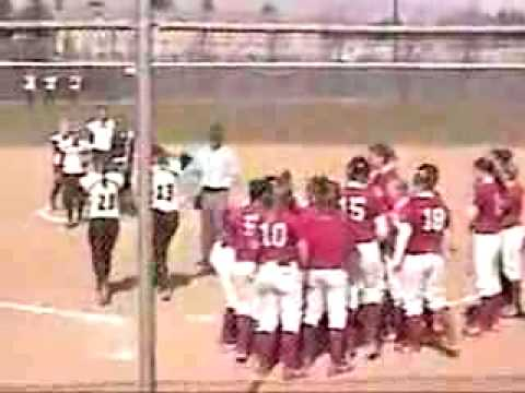 Girls Softball Miracle - Central Washington vs Western Oregon Video