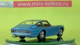 1:43 AC 428 Frua Fastback — коллекционная масштабная модель