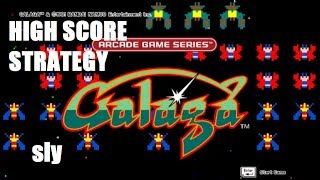 ARCADE GAME SERIES: GALAGA - High Score Strategy