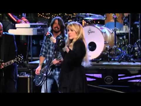 Stevie Nicks - Dave Grohl - Sound City Players - You Can't Fix This - Letterman