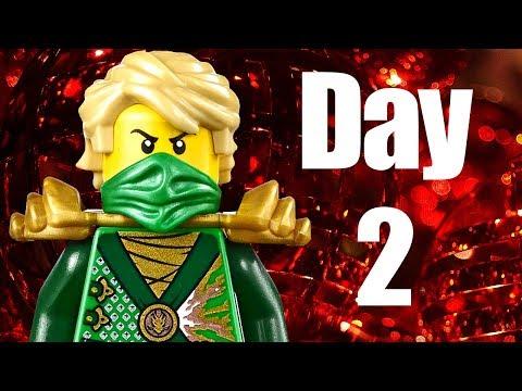 Custom LEGO Ninjago Advent Calendar 2013 Day 2 Review