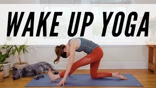 Wake Up Yoga  -  11 Minute Morning Yoga Practice -  Yoga With Adriene