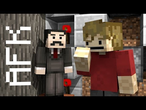 Mumbo Jumbo you are AFK! [Minecraft Animated Song]