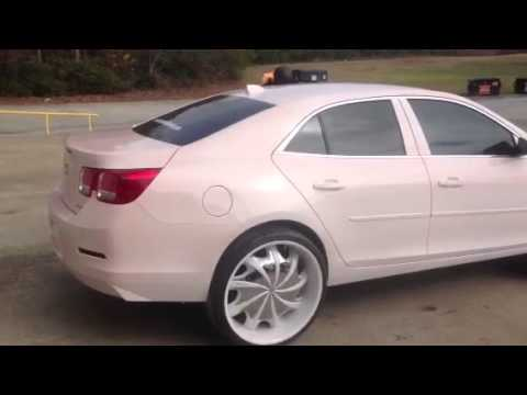 2013 CHEVY MALIBU (red pearl over white - YouTube