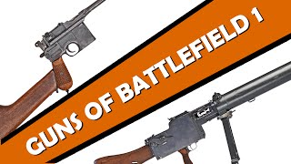 The Guns of the Battlefield 1 Trailer