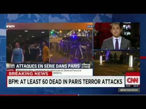 Paris TERROR ATTACKS: More Than ONE HUNDRED FIFTY Reported KILLED; Hostage Situation Ongoing!