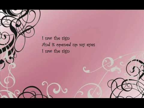 Ace of Base- I Saw The Sign With Lyrics