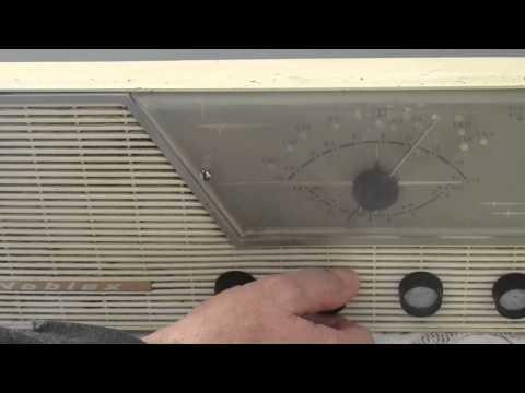 Antigua radio marca Noblex funciona ver video