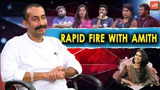 Amit Tiwari one Word Answer About Bigg Boss 2 Telugu Contestants | Kaushal | Geetha Madhuri | YOYOTV
