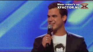 X FACTOR 2011 -  auditie Sebastiaan