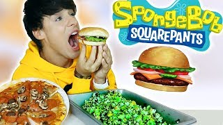 Download Lagu i only ate SPONGEBOB FOODS for 24 hours!!! Gratis STAFABAND