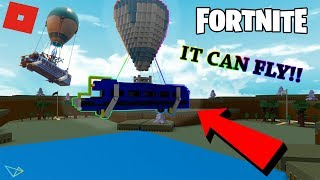 [TUTORIAL] How to make the BATTLE BUS!!! (IT CAN FLY!!!) | Build A Boat For Treasure (ROBLOX)