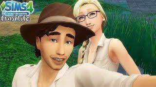 HIDDEN TEMPLE 🏯 JUNGLE ADVENTURE 🐍 Pt. 2 // The Sims 4 CrashLife | Ep. 8