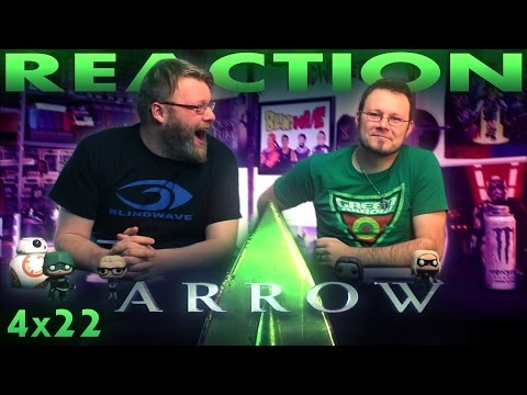 """Arrow 4x22 REACTION!! """"Lost in the Flood"""""""