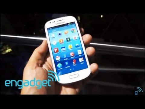 Samsung Galaxy SIII Mini hands-on   Engadget
