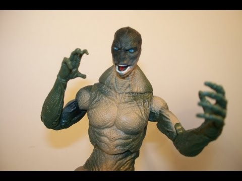 THE AMAZING SPIDERMAN - THE LIZARD - MOVIE SERIES WALMART EXCLUSIVE ACTION FIGURE TOY REVIEW