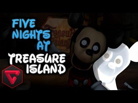 Five Nights At Treasure Island: Mickey El AnimatrÓnico (five Nights At Freddy's Fan Game) video