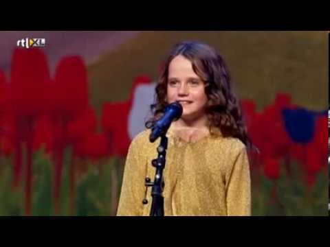 Hollands Got Talent - Amira (9) sings opera O Mio Babbino Caro - Full version
