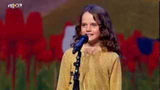 Holland's Got Talent - Amira (9) sings opera O Mio Babbino Caro - Full version