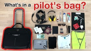 What´s in a PILOT´s BAG? WHAT YOU NEED and what NOT!!!