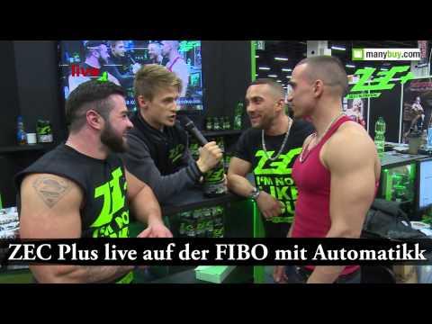 Zec+ live auf der FIBO mit Automatikk