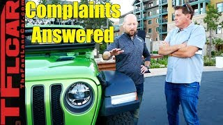 Five Things We HATE About Our 2018 Jeep Wrangler Complaints Answered