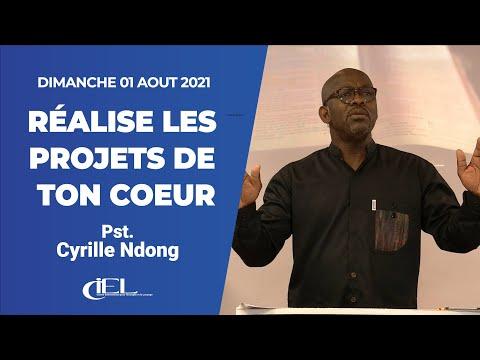Réalise les projets de ton cœur - Past Cyrille Ndong