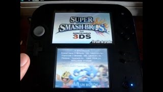Tito-san juega Super Smash Bros. 3DS Demo