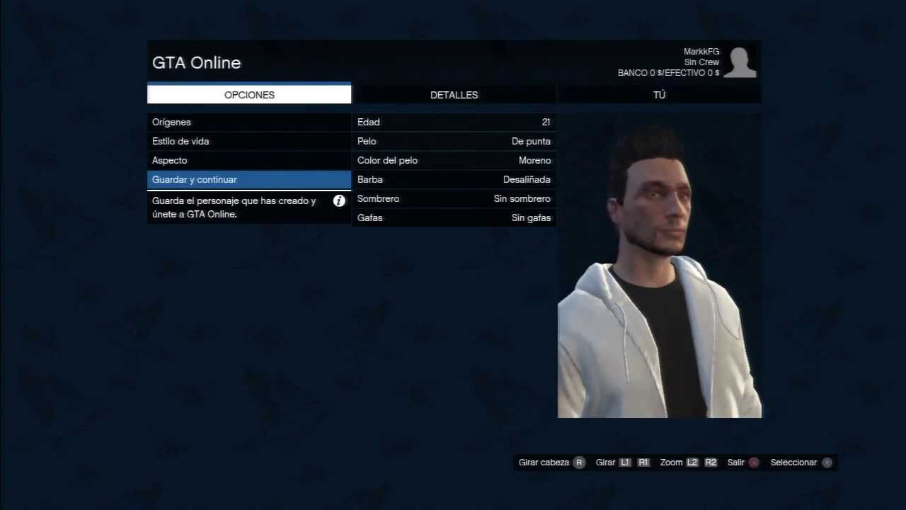 Gta v online creando mi personaje youtube for Cuarto personaje gta 5