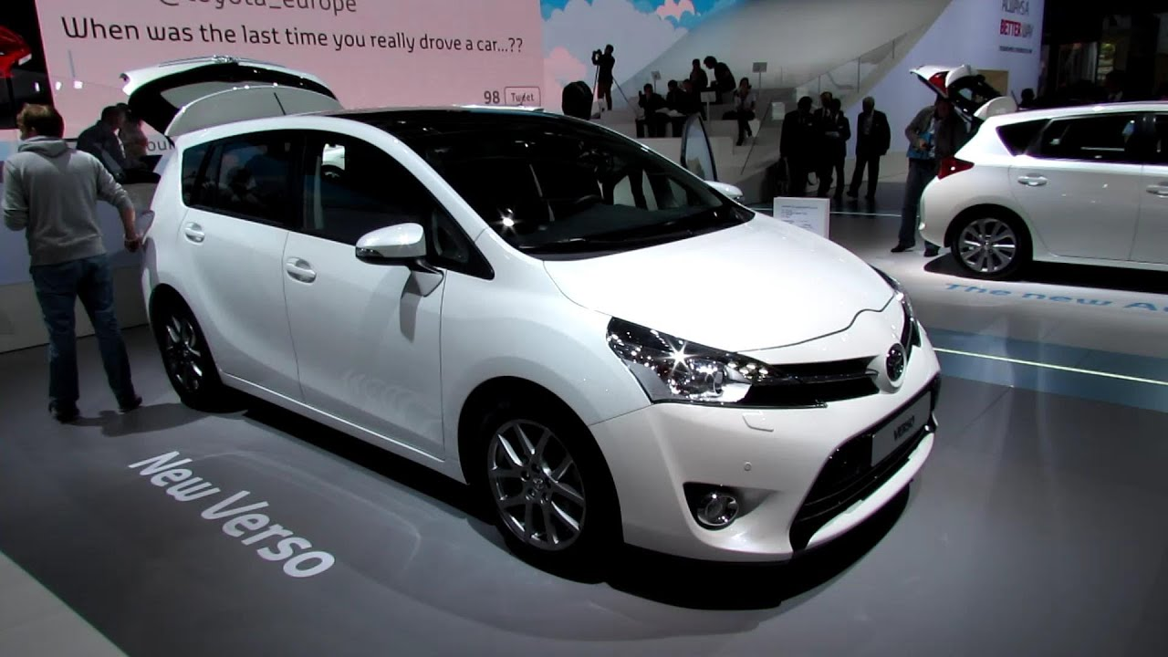 2013 Toyota Verso Diesel 7 Seats Exterior And Interior