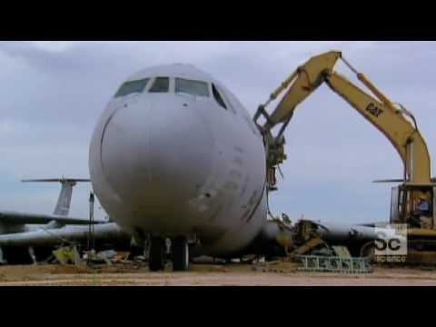 How Do They Do It? - Airplane Recycling