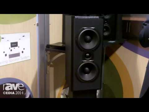 CEDIA 2014: TRIAD Speakers Shows Dolby Atmos Enabled Loudspeaker