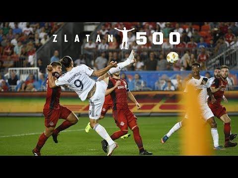 ◆動画◆ハイボールを超絶後ろ回し蹴りでゴールするイブラヒモビッチが異次元すぎて草