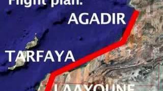 Flightplan: Agadir to Laayoune (Morocco)