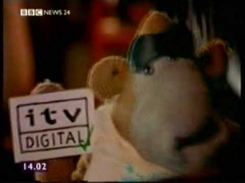 BBC News 24 report on ITV Digital collapse