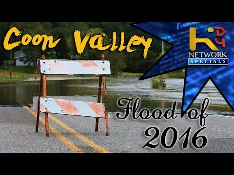Coon Valley, Wisconsin - Flood of 2016