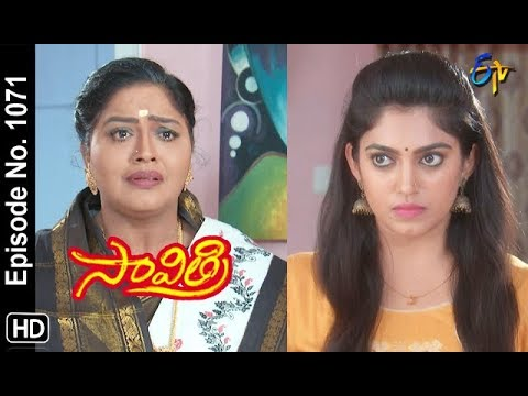 Savithri | 5th September 2018 | Full Episode No 1071 | ETV Telugu